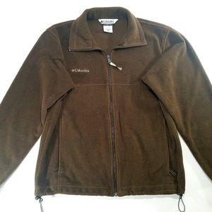 Columbia Men's Fleece Full Zip Up Jacket